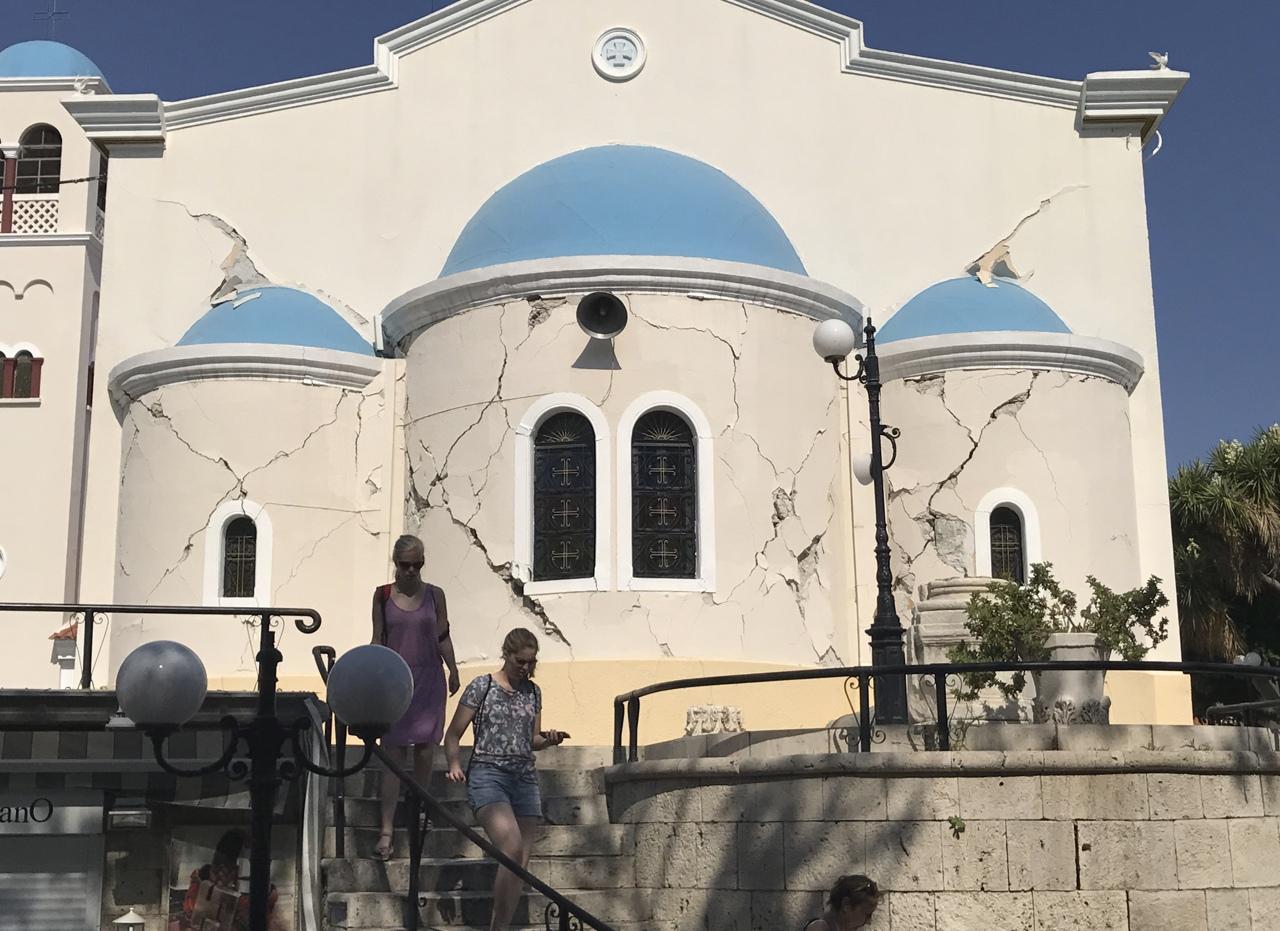 Terremoto grecia scosse avvertite a kos e bodrum le for Ristorante kos milano