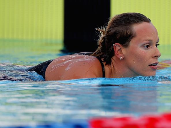 Nuoto: mondiali, Detti bronzo nei 400 sl