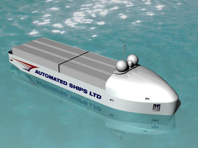 Hrönn, la prima nave-robot nei mari d'Europa: senza marinai