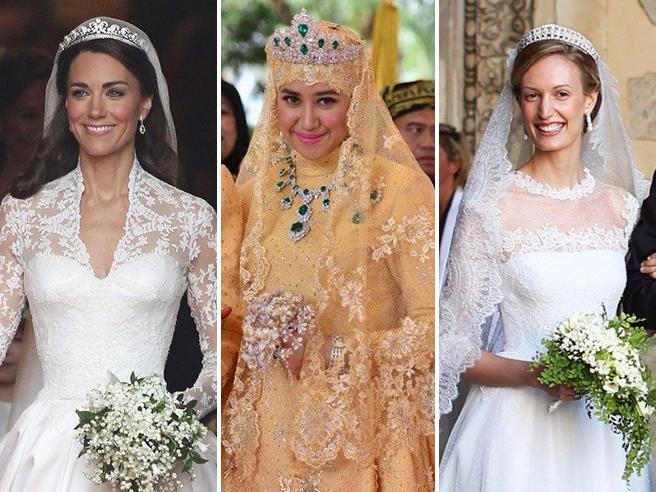 Nozze reali  gli abiti da sposa più belli indossati dalle teste coronate 8d7eb29ef6a