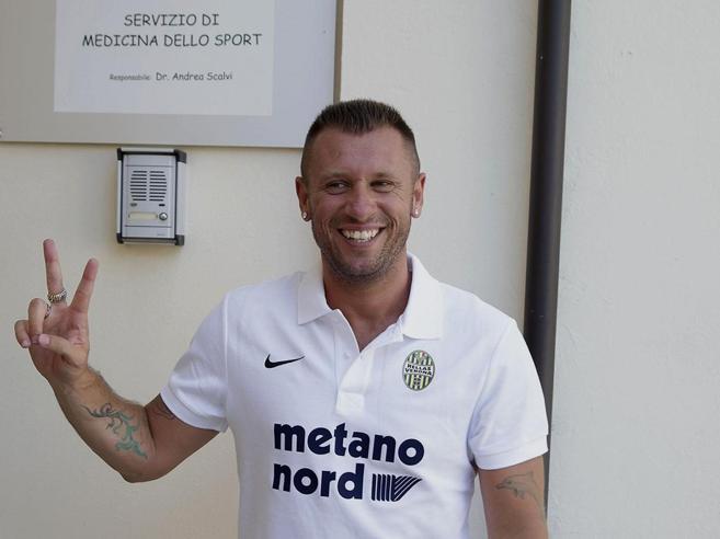 Verona, riecco l'Antonio Cassano choc: questa volta si ritira davvero