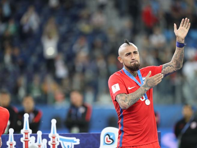 Calciomercato. Inter, Vidal torna di moda. Milan, nuovo «like» di Aubameyang