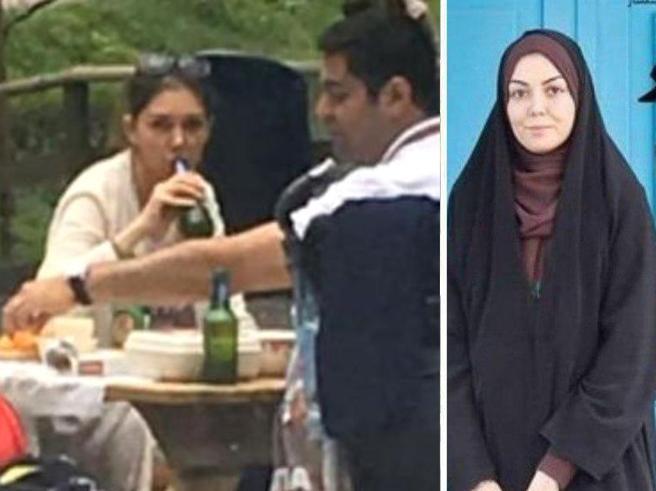 Beve birra e non porta il velo: reporter iraniana conservatrice sotto accusa