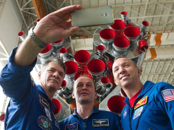 Astro Paolo sulla rampa di lancio