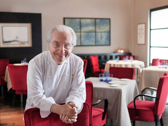 """Marchesi: """"Una villa  e i miei piatti  per gli chef   in pensione""""La ricetta"""