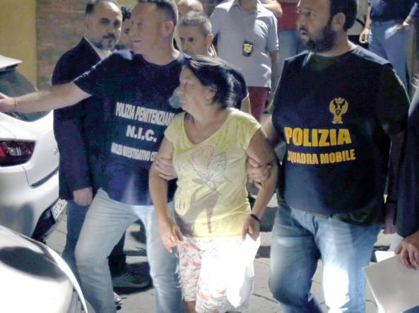 L'arresto di Giovanna Truzzi (Ansa)