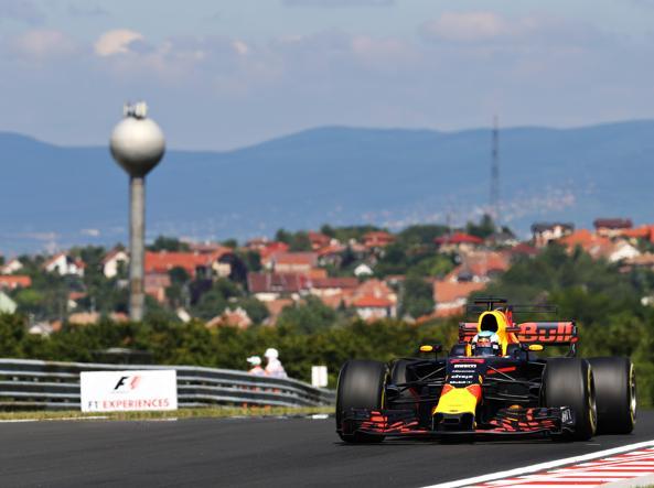 GP Ungheria: Ricciardo davanti a sorpresa nelle FP1