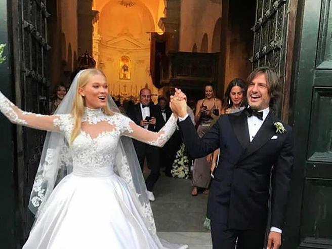 Valerio Morabito  sposa la top model  Vita Sidorkina, angelo di Victoria's Secret