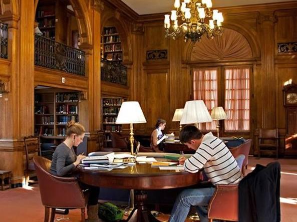 La biblioteca del Dartmouth College