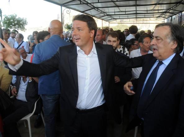 Livorno, Matteo Renzi: