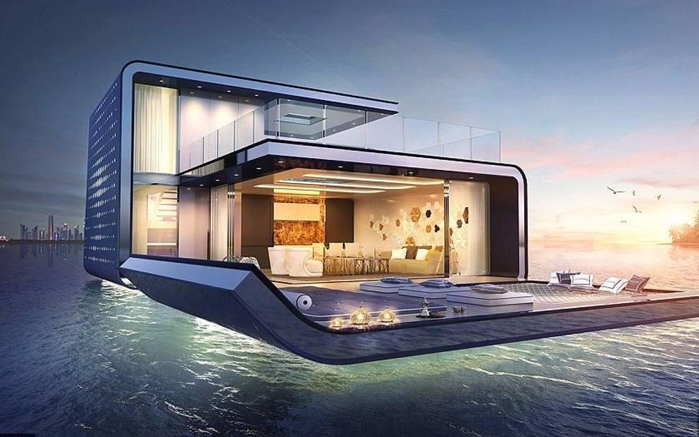 Dubai entro il 2018 pronte le 125 ville galleggianti con - Foto ville con giardino ...