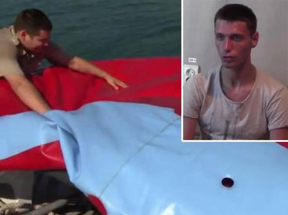 Pisolino in mare in Ucraina, si risveglia in Crimea