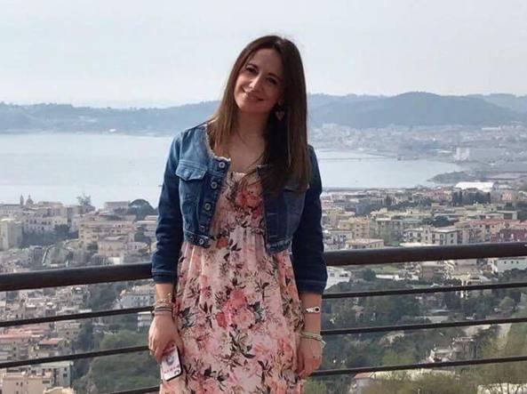 Valeria Genova, 32 anni, a Napoli