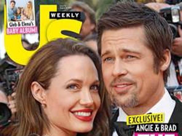 La coppia sulla copertina di «Us Weekly»