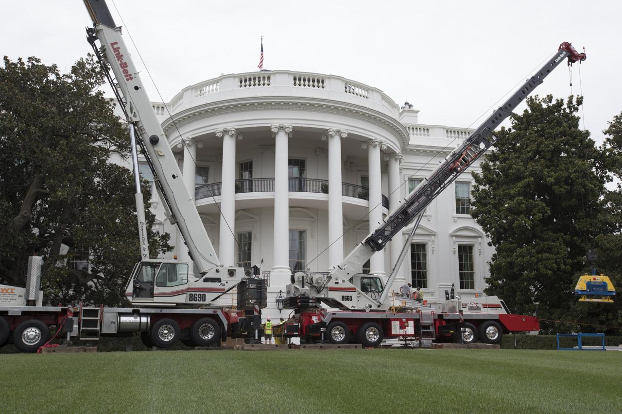 Lavori in corso alla casa bianca si ristruttura l ala - Lavori in casa prima del rogito ...