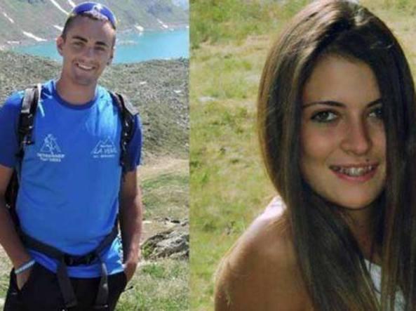 Le due giovani vittime (Foto Facebook)