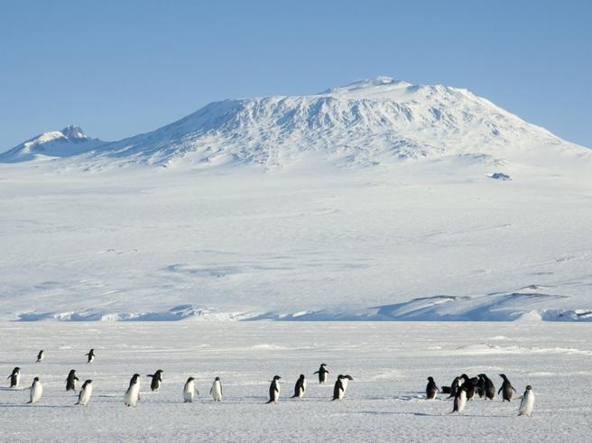 Antartide: identificati 91 vulcani sconosciuti