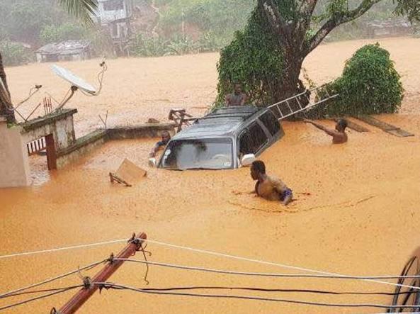 Sierra Leone: alluvione travolge capitale. Centinaia di morti