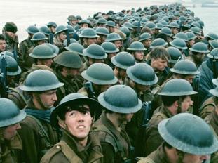 Una scena di «Dunkirk» di Christopher Nolan
