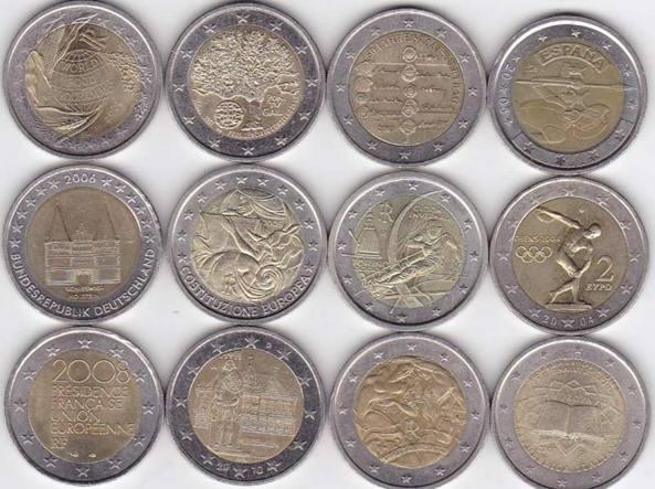 Attenzione alle monete da 2 euro false: come riconoscerle
