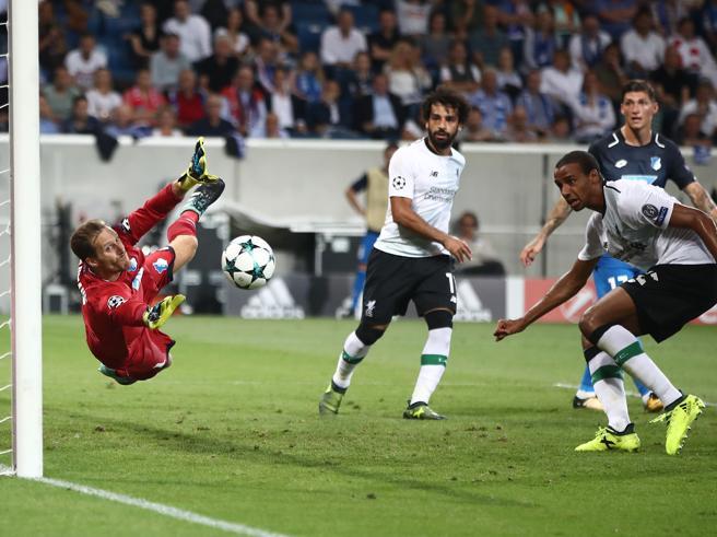 Preliminari di Champions League, i risultati della prima giornata: il Liverpool vince a Hoffenheim