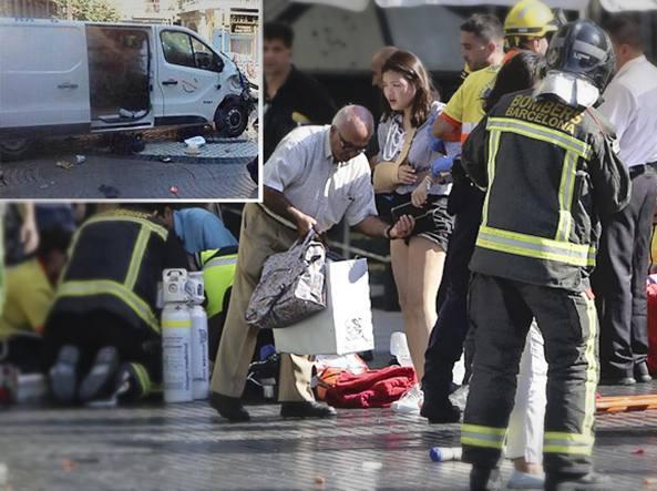 Risultati immagini per attentato barcellona 2017