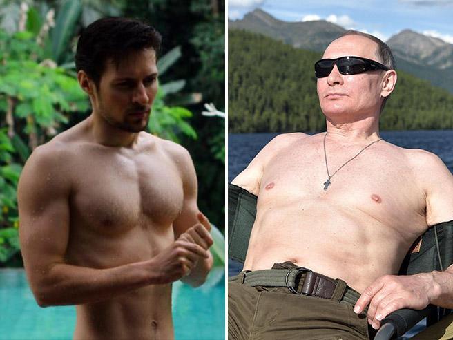 Russia: tutti a torso nudo come Vladimir Putin, è la «sfida» social dell'estate