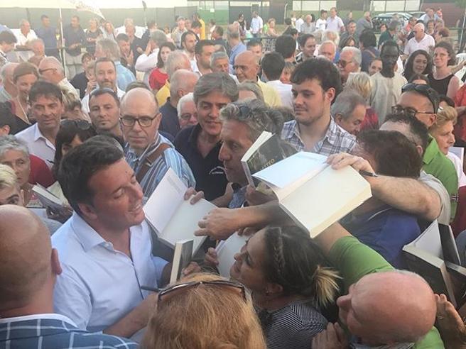 Renzi, lo sport per perdere chilie tante tappe in Toscana