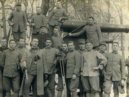 Militari italiani durante la Grande guerra