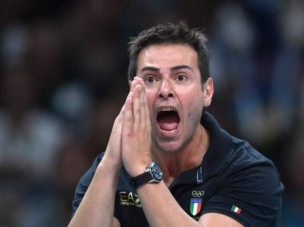 Tempo pieno Gianlorenzo Blengini, 45 anni, è ora c.t. dell'Italia a tempo pieno (Afp)