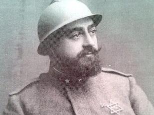 Un rabbino militare italiano (dalla mostra «1915/1918 Noi c'eravamo»)