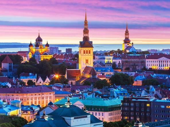 La capitale dell'Estonia, Tallinn