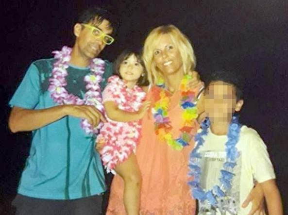 Marco e Francesca Zago, i genitori della piccola Sofia (Ansa)