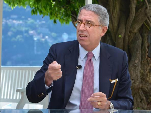 Arnaud de Puyfontaine, presidente esecutivo di Tim e ceo di Vivendi