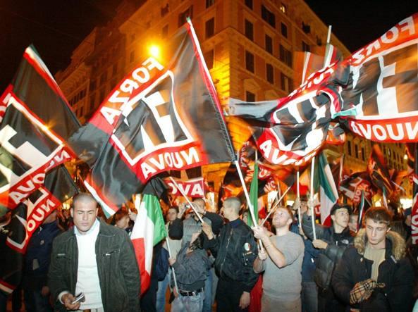 Manifestazione di Forza Nuova a Roma, organizzatori denunciati
