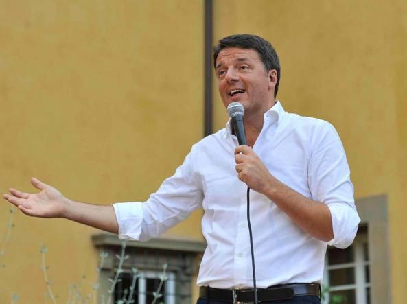 Renzi: i nostri ex compagni di viaggio vivono per attaccare il Pd