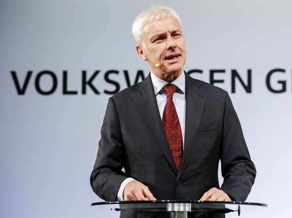 Matthias Muller, amministratore delegato Volkswagen