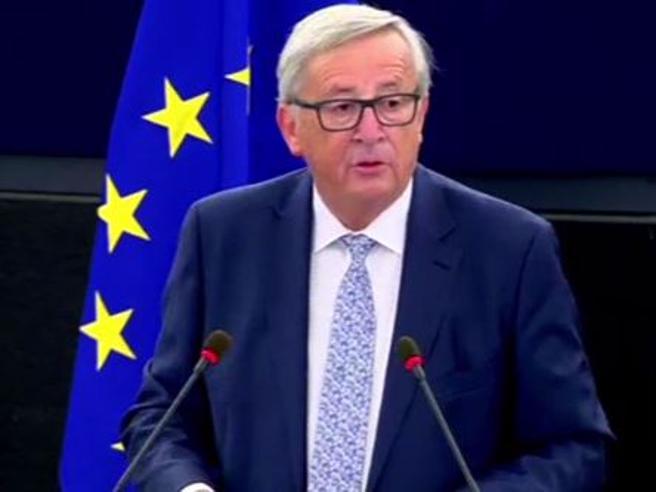 Juncker sullo stato dell'Unione: «Sui migranti il tributo dell'Italia ha salvato l'onore dell'Ue»