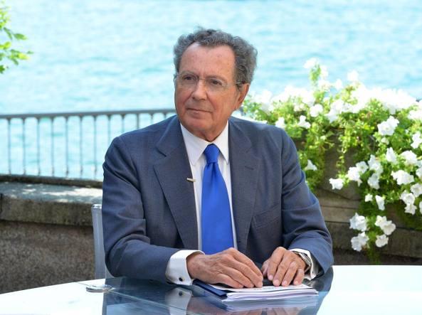 Il presidente di Intesa Sanpaolo, Gian Maria Gros-Pietro