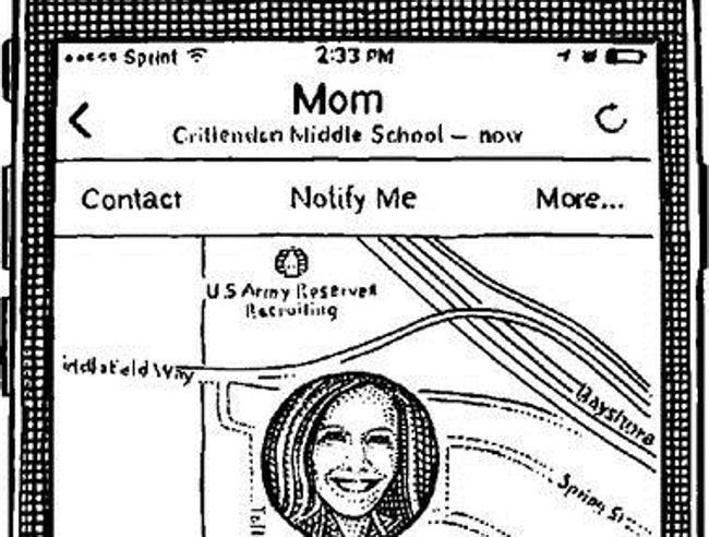 I figli geolocalizzano i genitori (e scoprono piccole bugie)