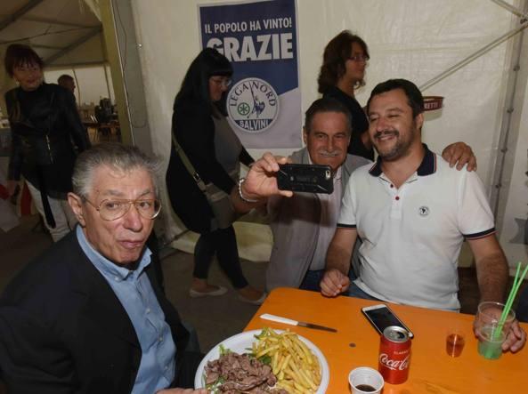 Salvini: parte oggi da Pontida la lunga marcia verso il governo