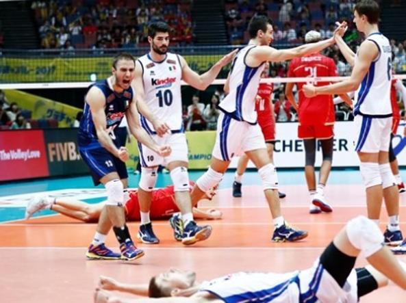Pallavolo: Champions Cup; l'Italia parte male, ko con l'Iran
