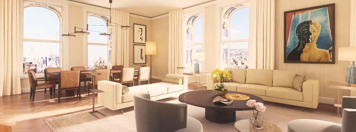 Manhattan in vendita l attico pi lussuoso del mondo for Attico a manhattan
