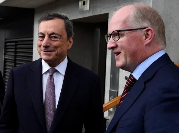 Disoccupazione giovanile, Draghi: ci sono progressi, ma c'è ancora da lavorare