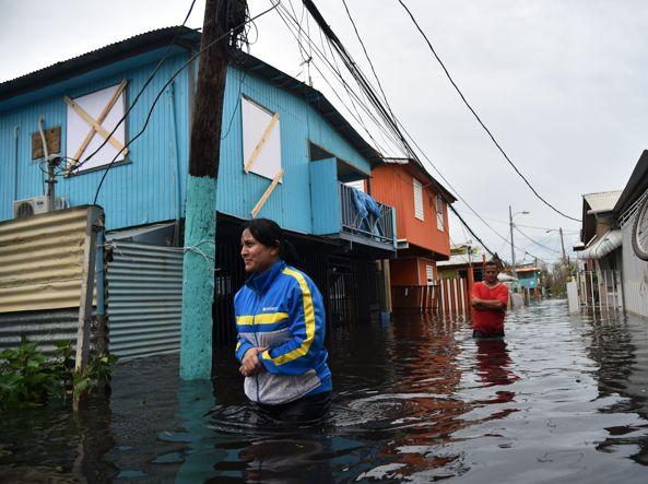 Maria: maxi evacuazione a Porto Rico per il cedimento di una diga