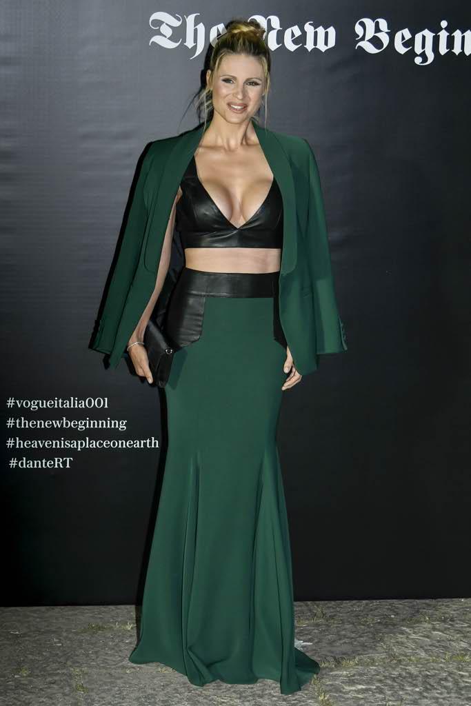 Settimana della moda a milano al party di vogue michelle for Settimana della moda milano 2018
