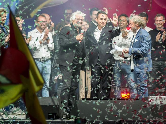 Movimento 5 Stelle, Di Maio candidato premier: «Andremo al governo del Paese»