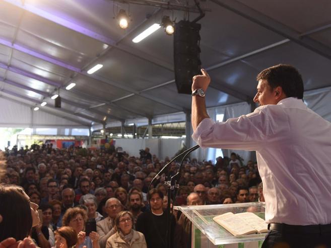 Renzi: la sinistra alla Bertinotti fa vincere i populisti