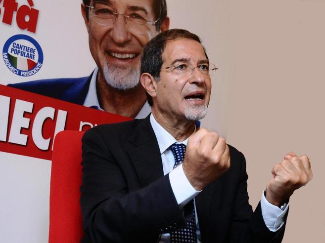 Sicilia, Musumeci è in testa con il 38%Male il candidato pd, Mdp a un passo