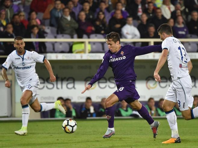 Fiorentina-Atalanta 1-1, Chiesa segna come papà, Freuler recupera in extremis: super-Sportiello non basta